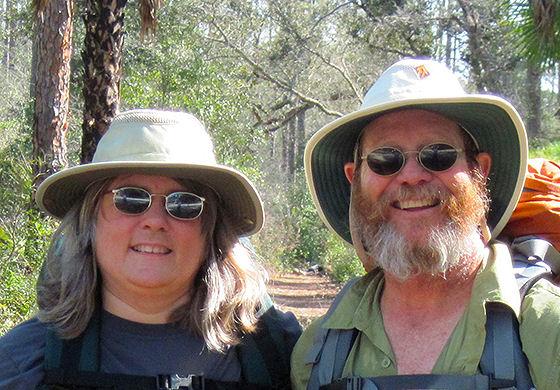 Sandra Friend and John Keatley